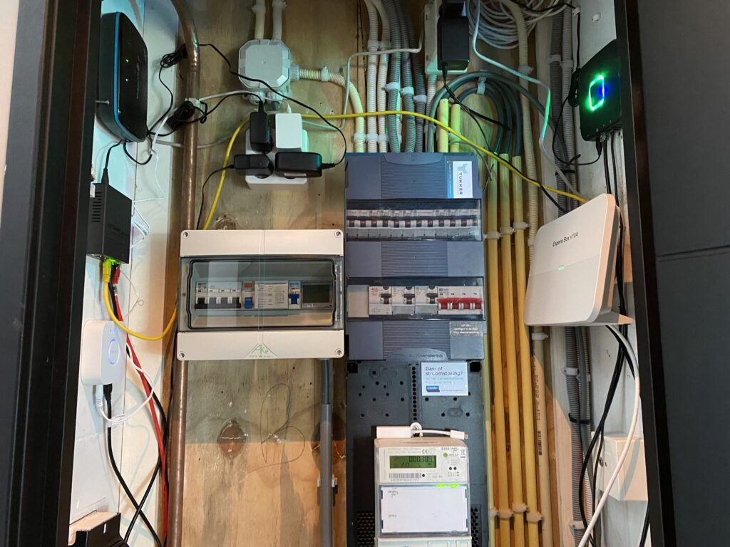 Ombouw groepenkast voor 22kW laadpaal